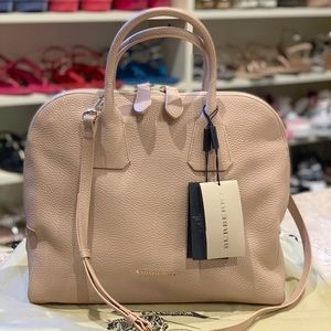 "Burberry ""Greenwood"" Bowling Bag Large"
